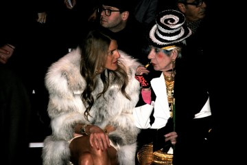 Anna Dello Russo and Anna Piaggi Front Row Milan Fashion Week_0447