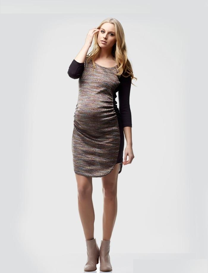 Jamie Side Panel Maternity Dress