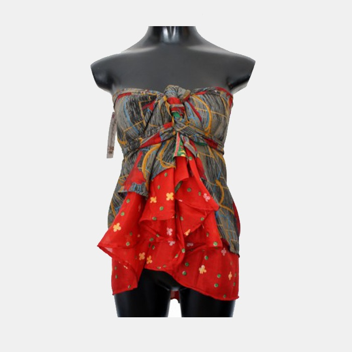 Silk Magic Wrap Skirt