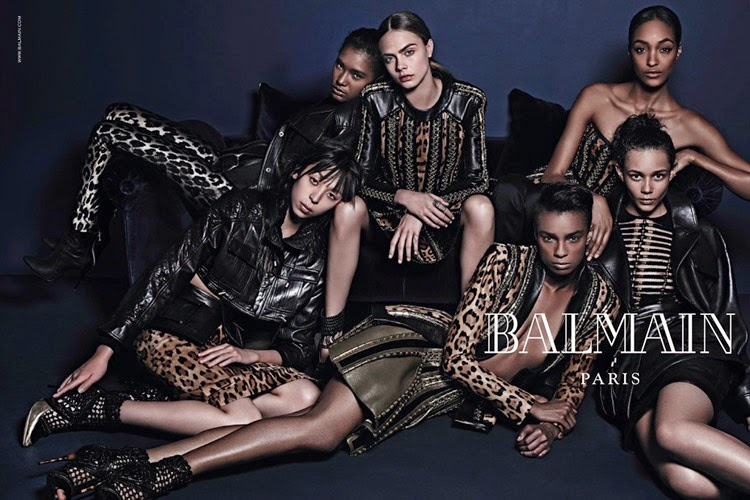 Balmain-Fall-Winter-2014-Mario-Sorrenti