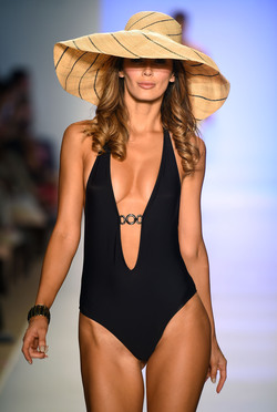 Mia Marcelle - Runway - Mercedes-Benz Fashion Week Swim 2015