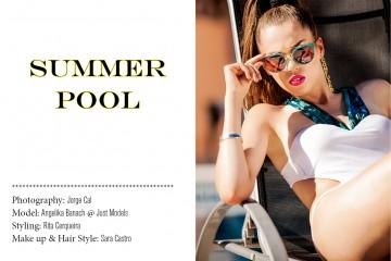 Edit Fashion Model - Summer Pool 1