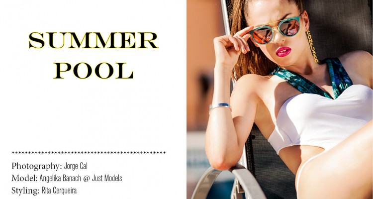Edit Fashion Model - Summer Pool 1