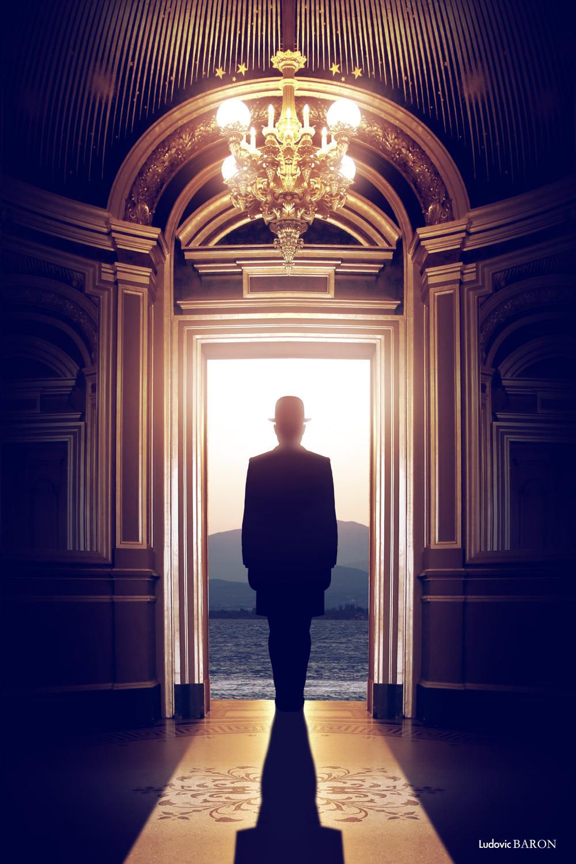Tableau l'homme de l'ombre par Ludovic Baron 2014 (web)