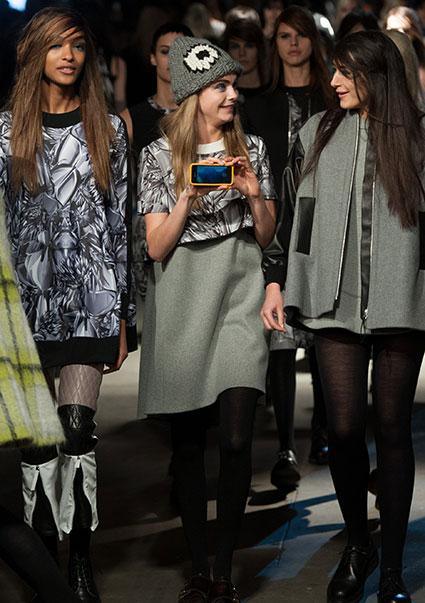 fashion x tech cara insta