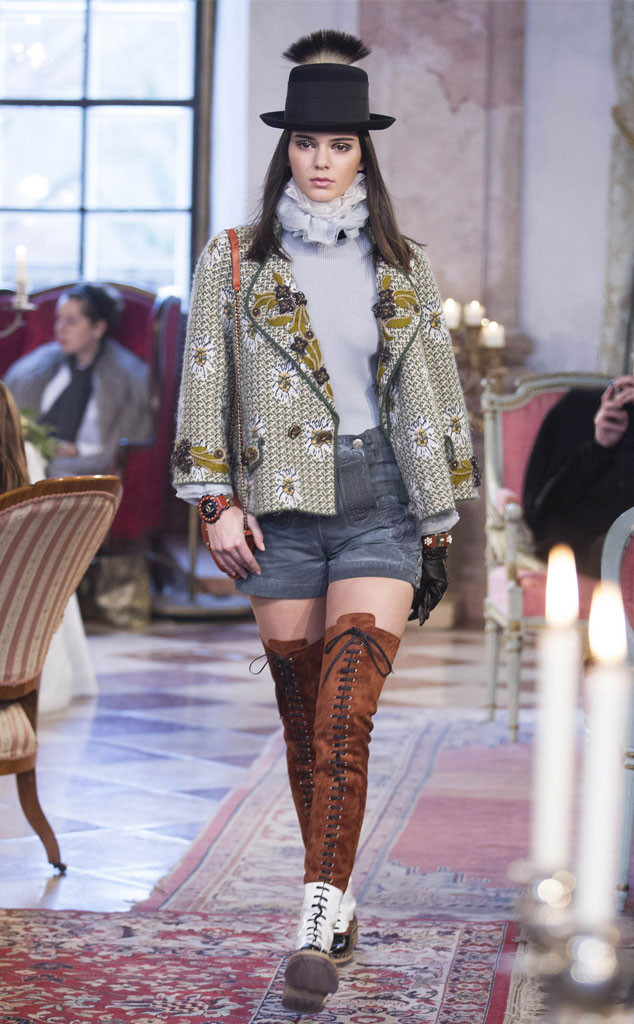 Can Kendall jenner chanel fashion show 2015 consider, that
