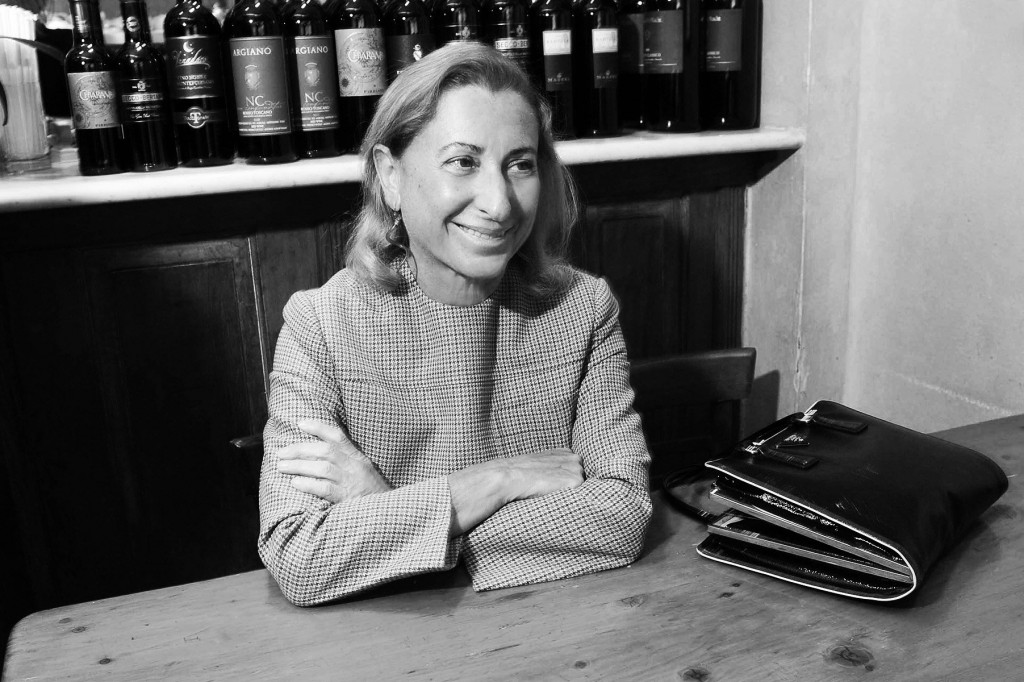 Miuccia Prada, the lady who inspires