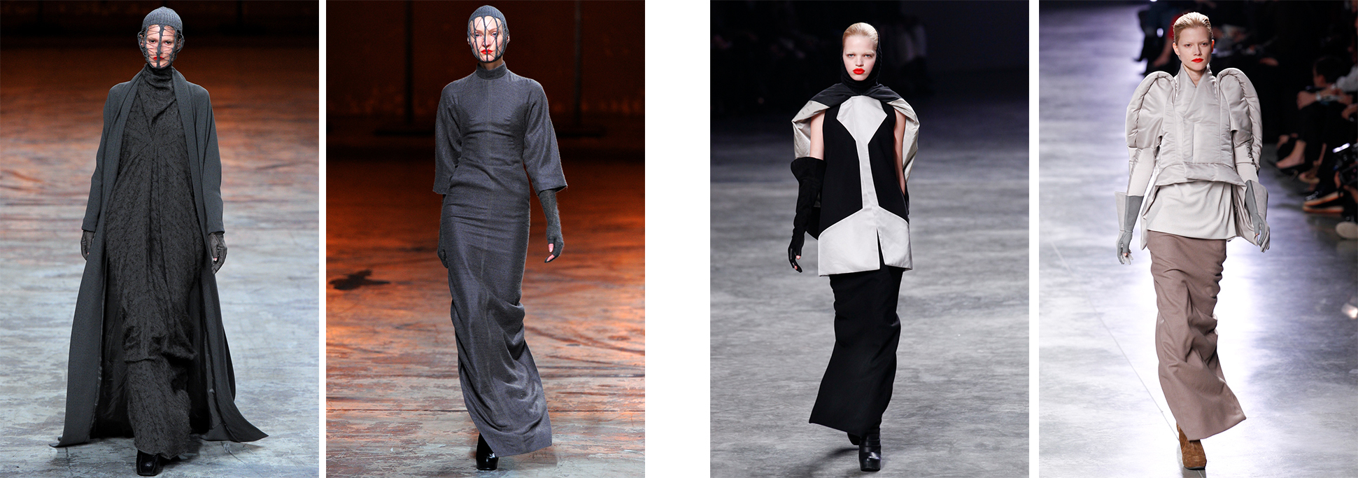 Rick Owens - Fall 2012 & Fall 2011 Ready-to-Wear