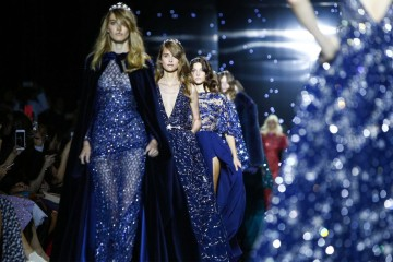 Zuhair Murad Fall Winter 2015 Fashion Show in Paris
