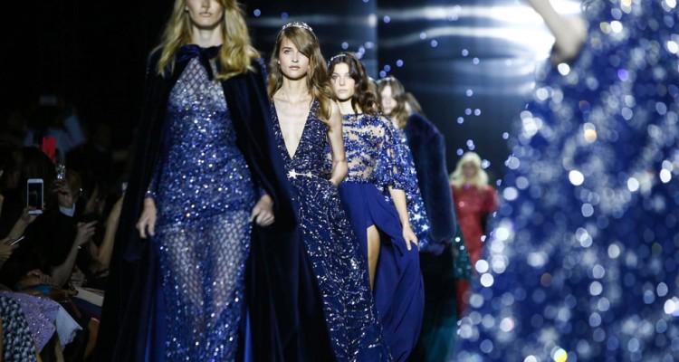 Zuhair Murad Fall Winter 2015 Fashion Show in Paris