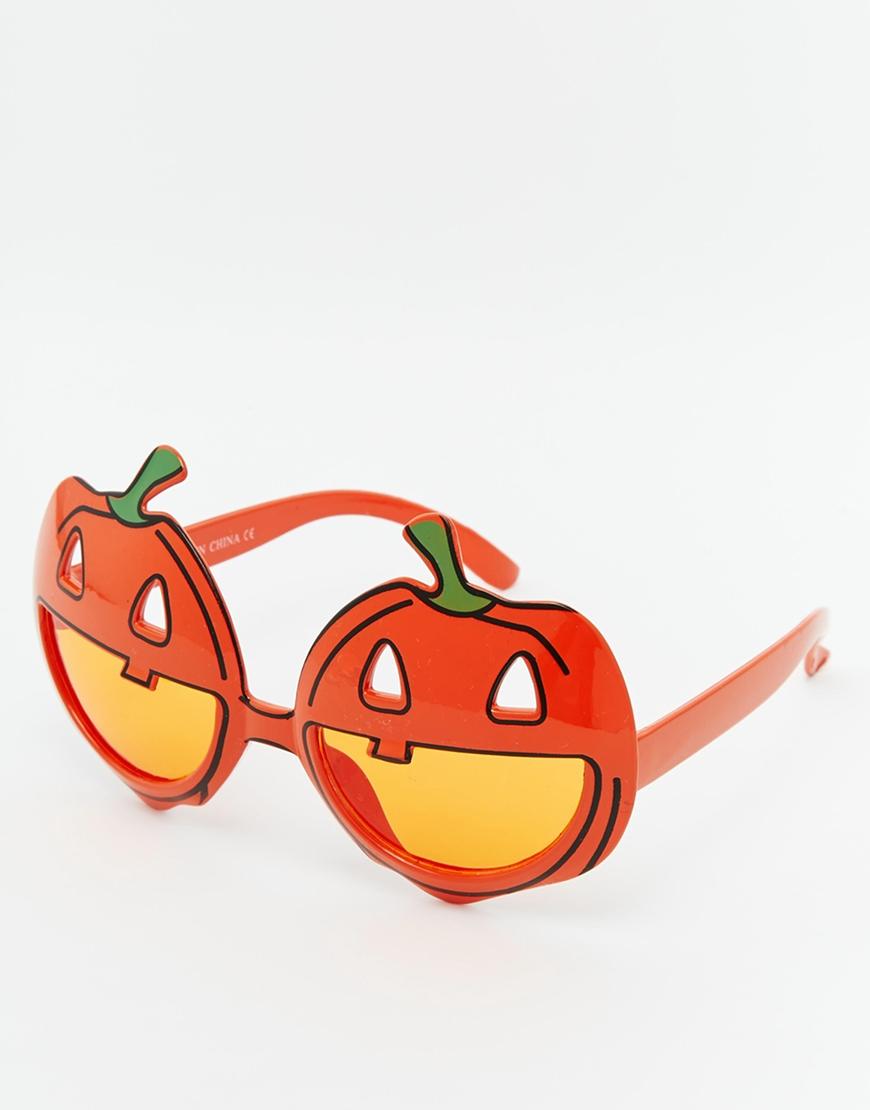ASOS Halloween Pumpkin Sunglasses