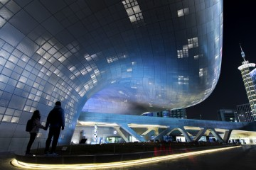 Dongdaemun Design Plaza, Seoul, South Korea 2016