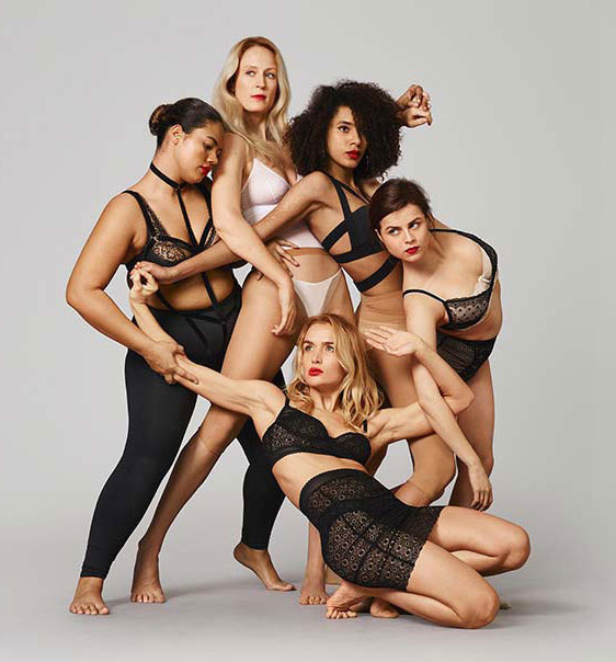 The dance themed EveryBody campaign by UK Selfridges.