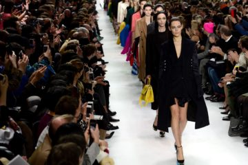 PARIS, FRANCE - FEBRUARY 28:  Models walk the runway during the Christian Dior show as part of the Paris Fashion Week Womenswear Fall/Winter 2014-2015  on February 28, 2014 in Paris, France.  (Photo by Dominique Charriau/Getty Images)