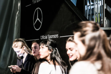 Backstage Mercedes-Benz Fashion Week Berlin Autumn/Winter 2016, Berlin am 22.01.2016 Foto: Nass / Brauer Photos fuer Mercedes-Benz
