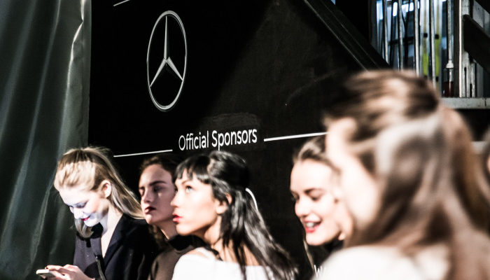 Backstage Mercedes-Benz Fashion Week Berlin Autumn/Winter 2016, Berlin am 22.01.2016 Foto: Nass / Brauer Photos fuer Mercedes-Benz